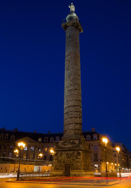 Place vendôme - Nuit