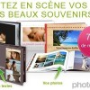 Livre photo en promo Photobox