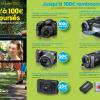 Appareil photo Sony : jusqu'à 100€ remboursé