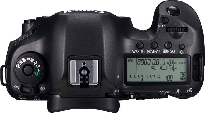 Canon 5DS dessus
