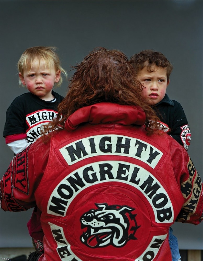 portaits nouvelle-zelande mongrel mob gang
